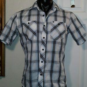 Billabong Short Sleeve Button Down Casual Shirt